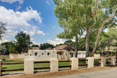 Corrales Single Family Home For Sale: 482 Meadowlark Lane