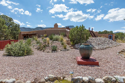 Placitas Single Family Home For Sale: 4 Quail Meadow Road