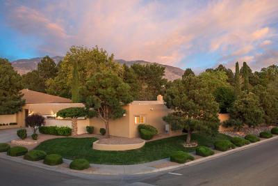 Single Family Home For Sale: 9000 Camino Del Sol NE