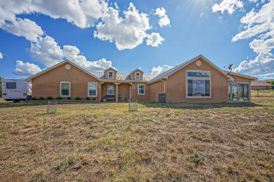 Tijeras Single Family Home For Sale: 8 Anne Court