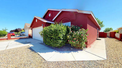Albuquerque Single Family Home For Sale: 2416 Desert Springs Drive SW