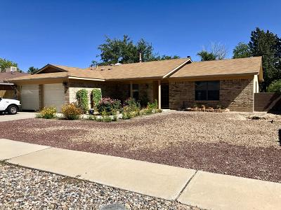 Albuquerque Single Family Home For Sale: 7412 Santa Fe Trail NW