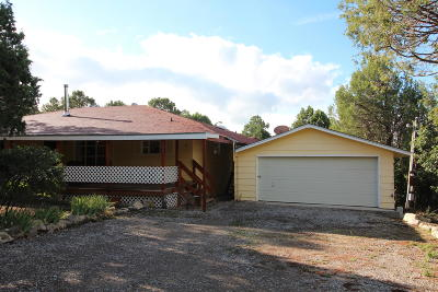 Tijeras Single Family Home For Sale: 17 Cardinal Drive