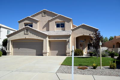 Rio Rancho Single Family Home For Sale: 3525 Calle Suenos