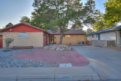 Albuquerque Single Family Home For Sale: 2729 Texas Street NE
