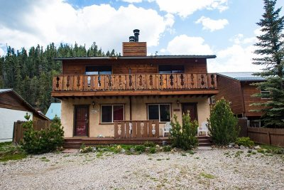 Red River Single Family Home For Sale: 807a Tenderfoot