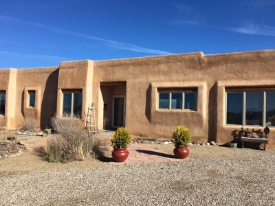 Taos County Single Family Home Active-Price Changed: 222 Cuchilla Road