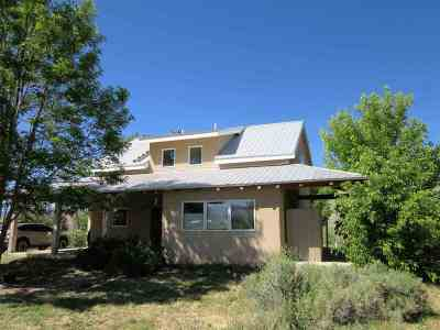Taos County Single Family Home Active-Extended: 134 State Road 240