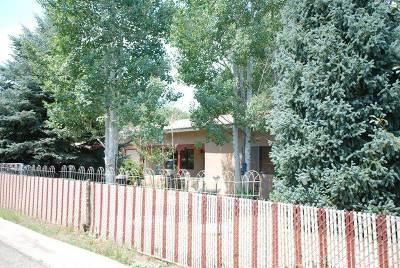 Taos Single Family Home Active-Price Changed: 418 Vigil Rd
