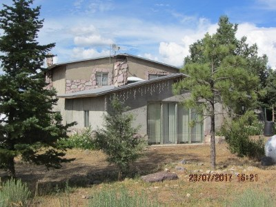 Taos County Single Family Home Active-Price Changed: 279 And 281 Cuchilla Road