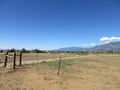 Taos Residential Lots & Land For Sale: Tract 7 Camino Anglada