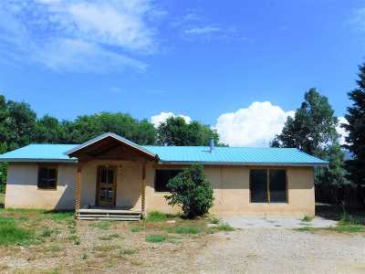 Taos Single Family Home For Sale: 421 Joseph Street