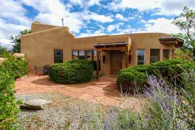 Taos Single Family Home Active-Price Changed: 103 Camino Abajo De La Loma West