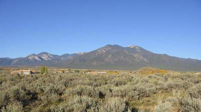 Taos Residential Lots & Land Active-Extended: Mesa Vista Rd