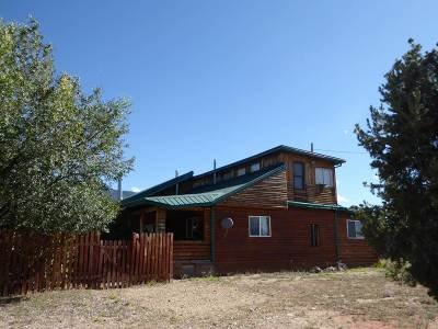 Questa Single Family Home For Sale: 50 Sangre De Cristo Rd