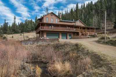 Taos County Single Family Home Active-Price Changed: 26584 E Highway 64