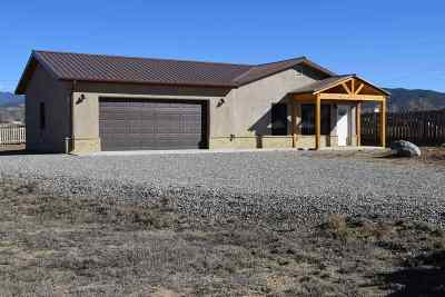 Taos Single Family Home For Sale: 419 A Camino De La Merced