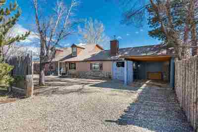 Taos Single Family Home For Sale: 513 Zia Street