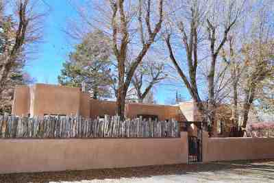 Taos Single Family Home For Sale: 118 Sierra Vista Lane