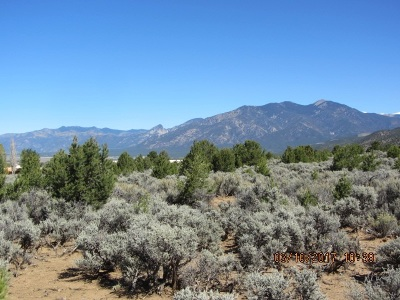 Taos Residential Lots & Land For Sale: Tr 18-A Espinosa