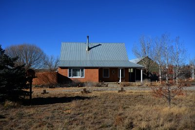 Taos County Single Family Home For Sale: 6 Day Lane