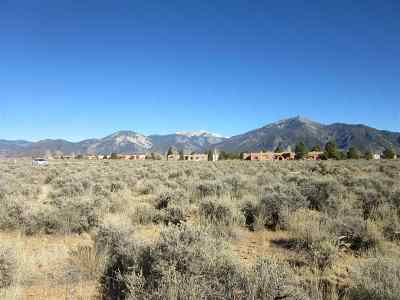 Taos Residential Lots & Land For Sale: Lot 7 Upper Las Colonias Road