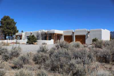 Taos Single Family Home For Sale
