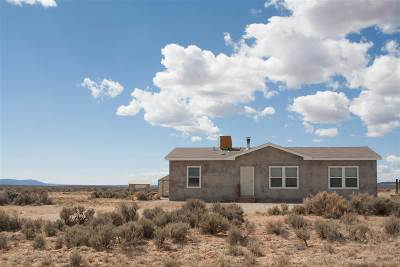 Taos County Single Family Home Active-Extended: 15 Red Sky Road