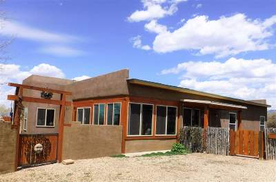 Taos County Single Family Home Active-Price Changed: 1826 Maestas Rd