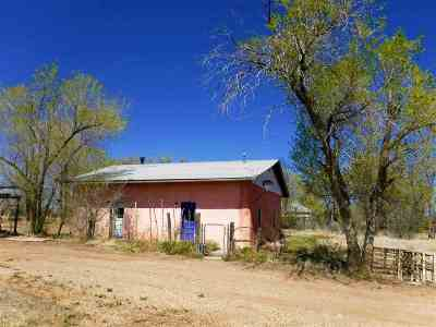 Taos County Single Family Home Active-Price Changed: 34 Cuchilla