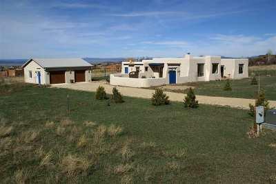 Taos County Single Family Home For Sale: 22 E. J.pacheco Road