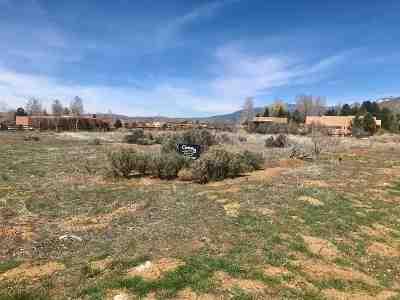 Taos Residential Lots & Land For Sale: Vegas De Taos L Vegas De Taos Loop