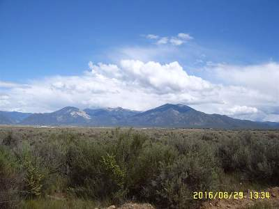 Taos Residential Lots & Land For Sale: Stright Arrow Rd