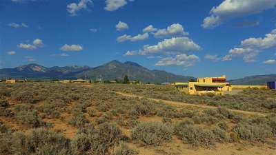 Taos Residential Lots & Land For Sale: . Off Eototo