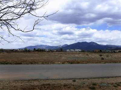 Taos Residential Lots & Land For Sale: Canon Bypass
