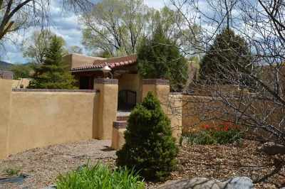 Taos Single Family Home Active-Price Changed: 323 Santistevan