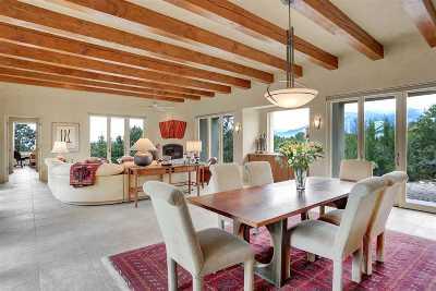 Taos County Single Family Home Active/Under Contract: 1002 Camino Del Monte