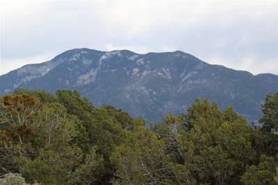 Taos Residential Lots & Land For Sale: Vista Lejos Road
