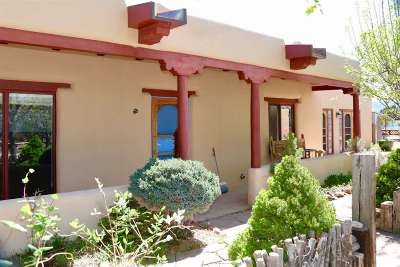 Taos County Single Family Home Active-Extended: 1503 Whitewater Road