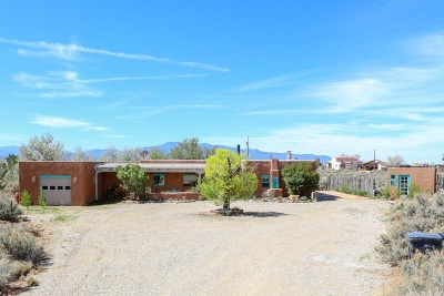 Taos County Single Family Home Active/Under Contract: 26 Eototo Road