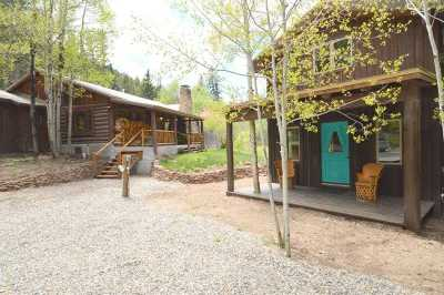 Taos County Single Family Home Active/Under Contract: 26346 Hwy 64e