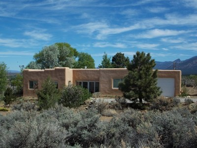 Taos Single Family Home For Sale: 1010 Calle Cuervo