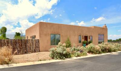 Taos Single Family Home For Sale: 1250 Temargo Road