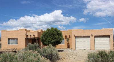 Taos Single Family Home For Sale: 416 Aguirre Ln