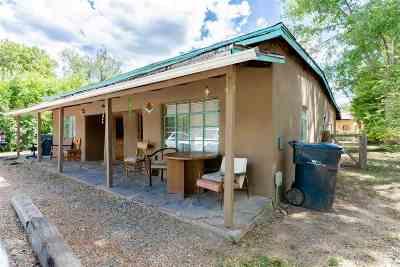 Taos Multi Family Home For Sale: 222, Siler