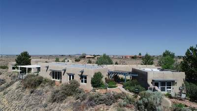 Taos County Single Family Home Active/Under Contract: Nighthawk Trail