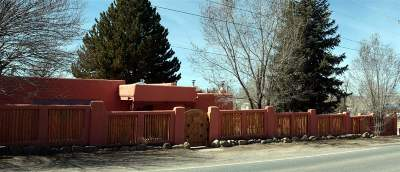 Taos County Single Family Home Active-Extended: 930 Kit Carson Road