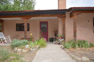 Taos County Single Family Home Active-Price Changed: 512 Piedmont Rd