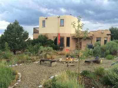 Taos County Single Family Home For Sale: 90 Verdolaga