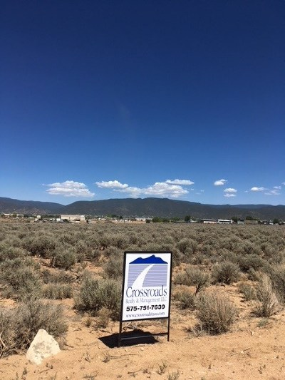 Taos Residential Lots & Land For Sale: Rrr Cactus Flower